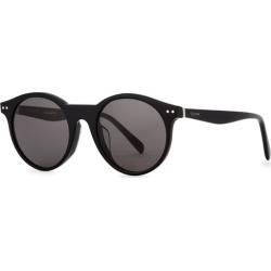CELINE Eyewear Black Round-frame Sunglasses found on Bargain Bro UK from Harvey Nichols