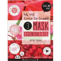 Oh K! Time To Treat 3 Mask Essentials Set found on Bargain Bro UK from Harvey Nichols