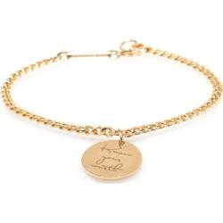 Zoe Chicco 14ct Yellow Gold Medallion Bracelet found on Bargain Bro UK from Harvey Nichols