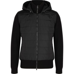 BOSS Danzi Black Wool-blend And Shell Jacket found on Bargain Bro UK from Harvey Nichols