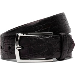 Hackett Crocodile Skin Leather Belt found on MODAPINS from Harvey Nichols for USD $337.74