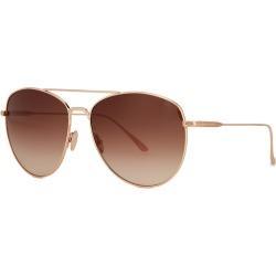 Tom Ford Milla Rose Gold-tone Aviator-style Sunglasses found on Bargain Bro UK from Harvey Nichols