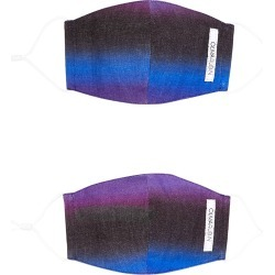 Irene dégradé face masks - set of two found on MODAPINS from Harvey Nichols US for USD $17.00
