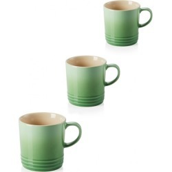 Le Creuset Set Of 3 Stoneware 350ml Mugs Rosemary found on Bargain Bro UK from Harvey Nichols