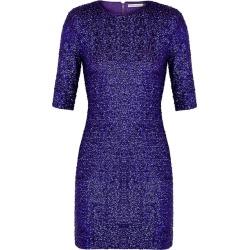 Alice + Olivia Inka Purple Sequin Mini Dress found on Bargain Bro UK from Harvey Nichols