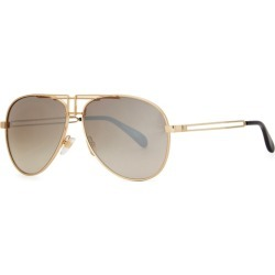 Givenchy GV 7110 Gold-tone Aviator-style Sunglasses found on MODAPINS from Harvey Nichols for USD $317.95