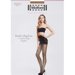 Wolford Individual Sand Control-top 10 Denier Tights found on MODAPINS from Harvey Nichols for USD $45.71