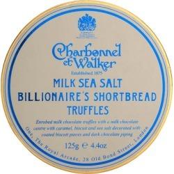 Charbonnel Et Walker Milk Sea Salt Billionaire's Shortbread Truffles 125g found on Bargain Bro UK from Harvey Nichols