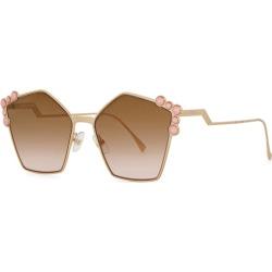 Fendi Can Pentagon-frame Sunglasses found on Bargain Bro UK from Harvey Nichols