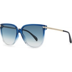 Givenchy Blue Oval-frame Sunglasses found on MODAPINS from Harvey Nichols for USD $272.72