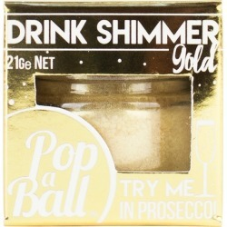 Popaball Gold Drink Shimmer 21g found on Bargain Bro UK from Harvey Nichols