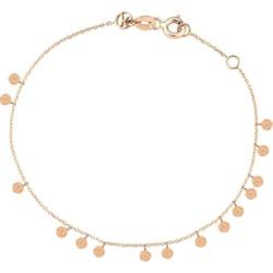 Kismet By Milka 14ct Rose Gold Dangle Circles Bracelet found on Bargain Bro UK from Harvey Nichols