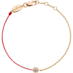 Redline 18ct Rose Gold And Diamond Pure Thread And Chain Bracelet (red) found on Bargain Bro UK from Harvey Nichols