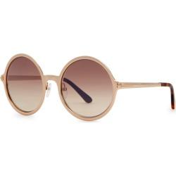 Tom Ford Ava Round-frame Sunglasses found on Bargain Bro UK from Harvey Nichols