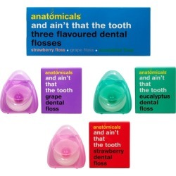 Anatomicals And Ain't That The Tooth Flosses found on Makeup Collection from Harvey Nichols for GBP 5.23