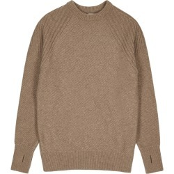 Oliver Spencer Blenheim Brown Wool Jumper found on MODAPINS from Harvey Nichols for USD $253.82