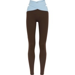 Live The Process Orion Two-tone Stretch-jersey Leggings