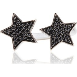 Alinka Jewellery Stasia Two Star Ring Black Diamonds found on MODAPINS from Harvey Nichols for USD $3141.96
