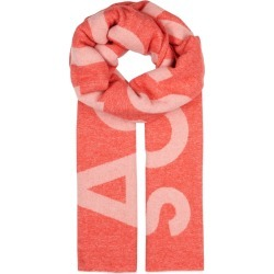 Acne Studios Toronto Logo-intarsia Wool-blend Scarf found on MODAPINS from Harvey Nichols for USD $232.26