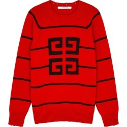 Givenchy 4G Intarsia Wool-blend Jumper found on MODAPINS from Harvey Nichols for USD $1184.01