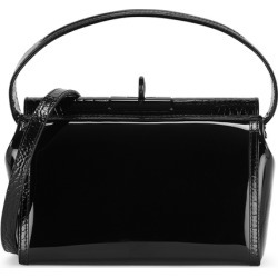 Gu de Water Black Leather And PVC Top Handle Bag found on Bargain Bro UK from Harvey Nichols