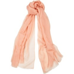 Denis Colomb Feather Toosh Pink Fine-knit Cashmere Scarf found on MODAPINS from Harvey Nichols for USD $598.21
