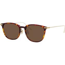 Linda Farrow Linear Tortoiseshell Rectangle-frame Sunglasses found on MODAPINS from Harvey Nichols for USD $348.49