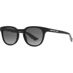 Dior Homme DiorB24.2 Black Oval-frame Sunglasses found on MODAPINS from Harvey Nichols for USD $303.86