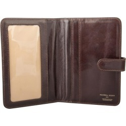 Maxwell Scott Bags High Quality Brown Full Grain Leather Travel Wallet found on Bargain Bro UK from Harvey Nichols