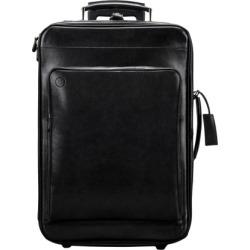 Maxwell Scott Bags Maxwell Scott Premium Leather Hand Luggage On Wheels - Piazzale Black found on Bargain Bro UK from Harvey Nichols