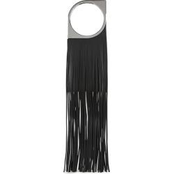 Paco Rabanne Paquito Mini Black Fringed Leather Top Handle Bag found on Bargain Bro UK from Harvey Nichols
