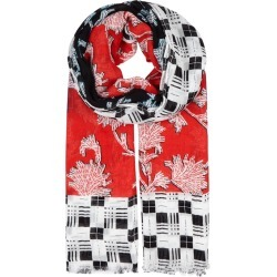 Diane Von Furstenberg Printed Modal-blend Scarf found on MODAPINS from Harvey Nichols for USD $103.23