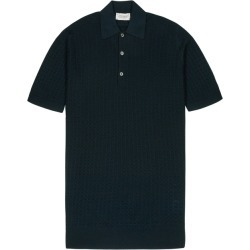 John Smedley Teal Merino Wool Polo Shirt found on MODAPINS from Harvey Nichols for USD $226.04
