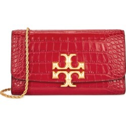 Eleanor red crocodile-effect leather clutch found on MODAPINS from Harvey Nichols US for USD $670.00