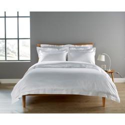 Christy 900tc Picot King Pillowcase White found on Bargain Bro UK from Harvey Nichols