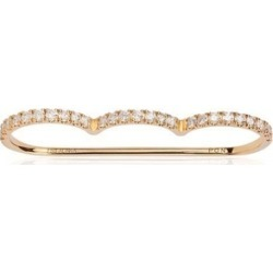 Alinka Jewellery Cloud Three-finger Ring Yellow Gold found on MODAPINS from Harvey Nichols for USD $7740.25