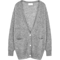 American Vintage Grey Knitted Alpaca-blend Cardigan found on Bargain Bro UK from Harvey Nichols