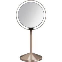 Simplehuman 12cm Sensor Mirror - Rose Gold found on Makeup Collection from Harvey Nichols for GBP 119.54