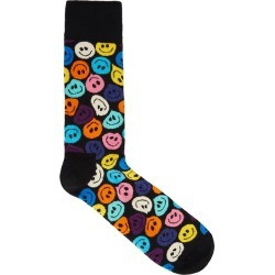 Happy Socks Twisted Smile Cotton-blend Socks found on MODAPINS from Harvey Nichols for USD $12.88