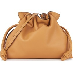 Flamenco small brown leather clutch found on MODAPINS from Harvey Nichols US for USD $1850.00