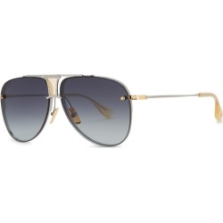 bc4b643b432 DITA Decade-Two Aviator-style Sunglasses found on MODAPINS from Harvey  Nichols for USD