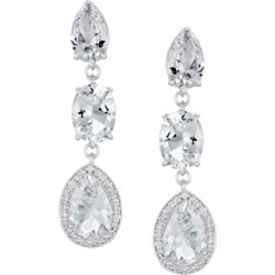 Atelier Swarovski Lola Small Drop Earrings Swarovski Created Diamonds found on MODAPINS from Harvey Nichols for USD $1643.72