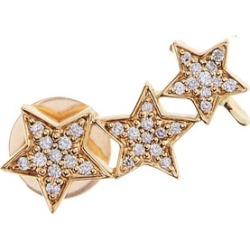Alinka Jewellery Stasia Triple Star Left Ear Cuff Yellow Gold found on MODAPINS from Harvey Nichols for USD $1427.81