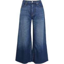Gucci Blue Wide-leg Cropped Jeans found on MODAPINS from Harvey Nichols for USD $935.42