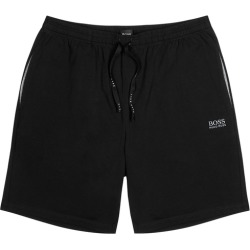 BOSS Black Stretch-jersey Shorts found on MODAPINS from Harvey Nichols for USD $47.75