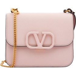 Valentino Garavani VSling Small Pink Leather Cross-body Bag found on Bargain Bro UK from Harvey Nichols