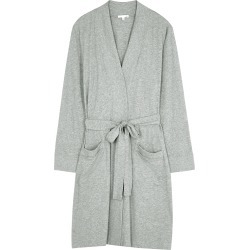 Odiana grey Pima cotton robe found on MODAPINS from Harvey Nichols US for USD $170.00