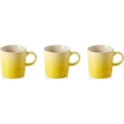 Le Creuset Set Of 3 Stoneware Espresso Mugs Soleil found on Bargain Bro UK from Harvey Nichols
