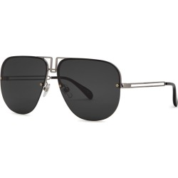 Givenchy Black Aviator-style Sunglasses found on MODAPINS from Harvey Nichols for USD $317.95