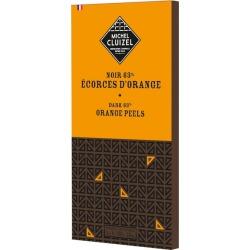 Michel Cluizel Noir 63% Écorces D'Orange (Dark Chocolate With Orange Peel Bar) 100g found on Bargain Bro UK from Harvey Nichols